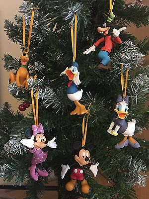 Mickey Mouse Christmas Tree Decorations Set Of 6 ornaments stocking filler gift
