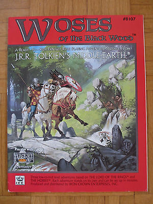 WOSES OF BLACK WOOD – Middle-Earth MERP #8107 - English frpg lotr lord ring rpg