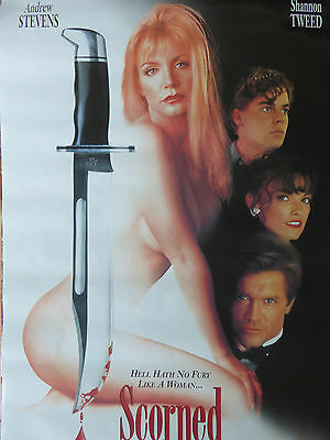 Shannon Tweed SCORNED & Unearthing poster (Double sided!)