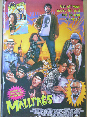 Shannen Doherty MALLRATS movie poster