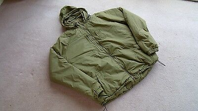 British Army Latest Issue Hooded Coyote Thermal Jacket Size Med (170/90)