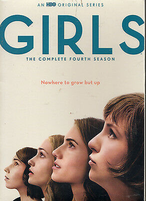 Girls: The Complete Fourth 4 Season Dvd 2 Disc Set 2016 New