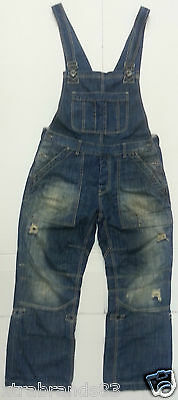 CRAFTED Dungarees denim blue Washed 36 / 32