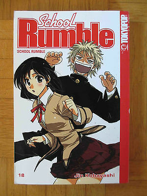 SCHOOL RUMBLE - Manga Band 18 - RARITÄT – Deutsch – Comedy Romantik - Kobayashi