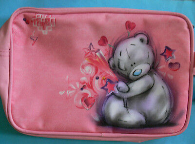 Me To You Pink Sketchbook Bear Wash Bag. New with Tags.