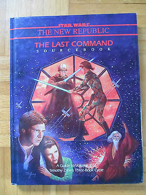 Star Wars – THE LAST COMMAND – 40059 Roleplaying Game Sourcebook Guide Zahn RPG