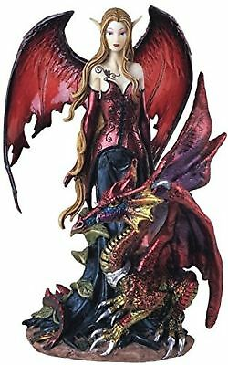 StealStreet Fairy Collection Pixie with Dragon Fantasy Figurine Figure Dec...NEW