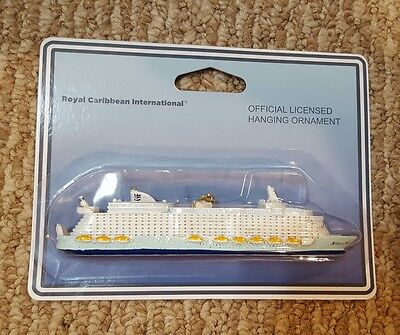 """NEW Official Royal Caribbean Oasis of the Seas Ornament Christmas Tree RCCL 6"""""""