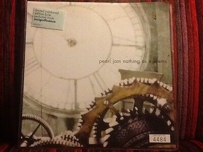 Pearl Jam - Nothing As It Seems Limited Nummbered Edition Record
