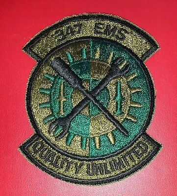 USAF  347th Equipment Maintenance Squadron Patch