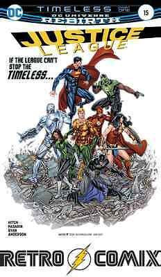 Dc Rebirth Justice League #15 First Print New/unread Bagged & Boarded