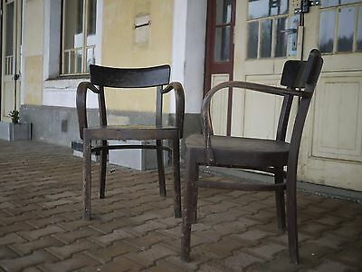 pair of Antique vintage dinning  Chairs by Thonet great shape