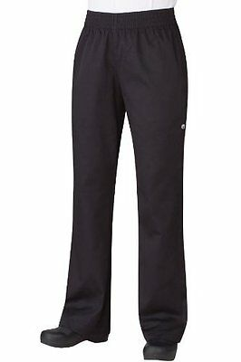 Chef Works Women's Essential Baggy Chef Pant (PW005) M NEW