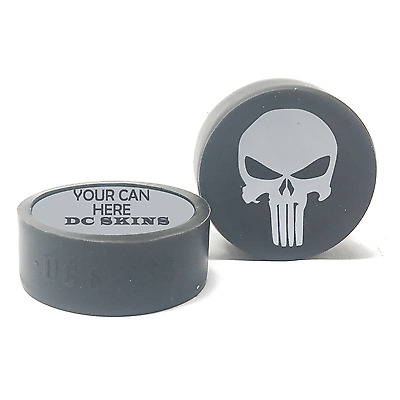 Snuff Cover Waterproof Protective Skins for Dip Chew Cans - Punisher