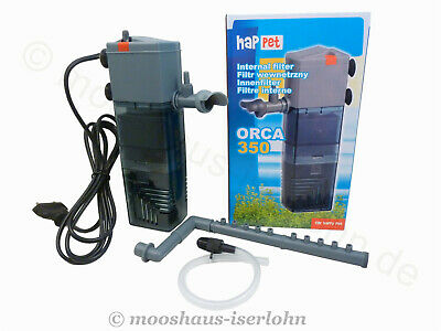 Happet Orca 350 Innenfilter inclusive Aktivkohle Box Filter Nano Aquariumfilter