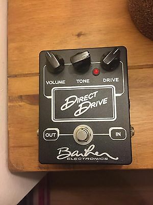 Barber Electronics Direct Drive Guitar Pedal