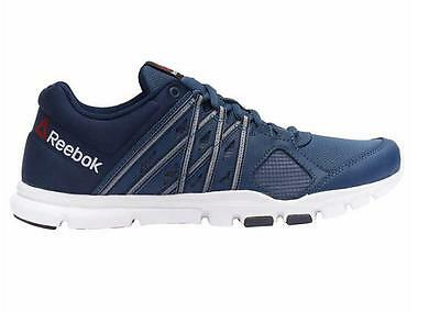 New - Reebok Men's Blue Yourflex Train 8.0 Running Athletic Shoes PICK SIZE