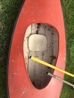 10' One Person Fibreglass Canoe Kayak - Collection Only    YORK ??