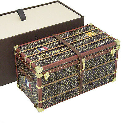 Louis Vuitton Novelty Monogram Trunk M99408 Excellent from Japan Paper Weight
