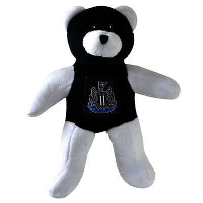 58d86aba989 Newcastle United Fc Crest Soft Mini Teddy Bear Toy Contrast Baby New Xmas  Gift