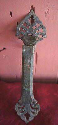 Vintage Ornate Metal Door Handle