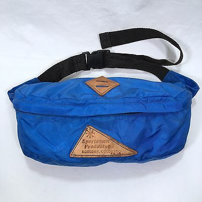 Sportsmen Products Boulder Colorado USA Fanny Pack Nordic Ski Gear Tools Files