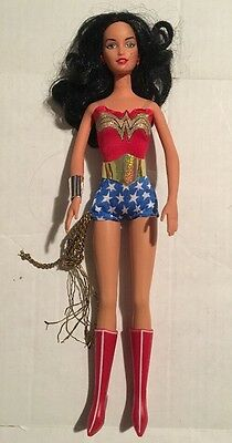 "2003 Mattel Barbie 11.5"" Wonder Woman Doll Action Figure DC Justice League"