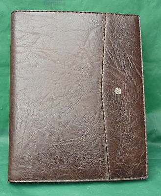 Vintage Leather Stationery Case Notepad Cover