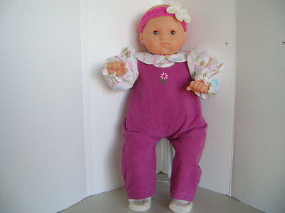"""Handmade Coverall Outfit for 20""""-22"""" Baby Dolls & Reborn Dolls"""