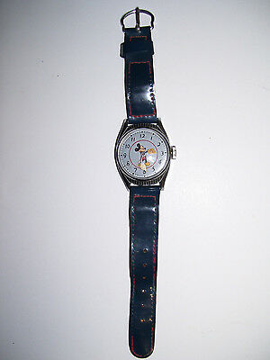 1949 Vintage Mickey Mouse Birthday Series Watch U.S.Time