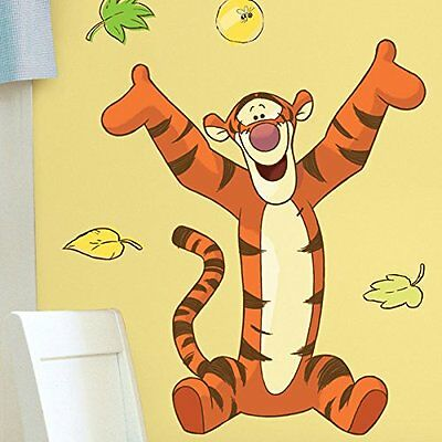 Roommates Rmk1500Gm Tigger Peel And Stick Giant Wall Decal