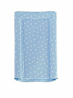 NEW Baby Elegance PVC Changing Mat - Pale Blue with White Spots