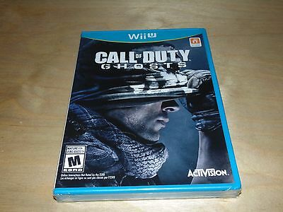 Call of Duty: Ghosts (Nintendo Wii U, 2013) BRAND NEW SEALED
