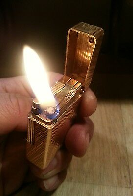 Project for DuPont gas lighter ligne1 old style engine convert to petrol lighter