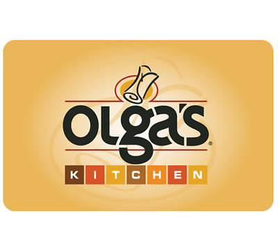 Olga's Kitchen Gift Card - $25, $50 or $100 - Email delivery