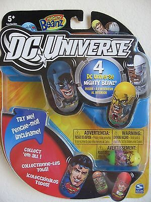4 Pack MIGHTY BEANZ Collectible DC UNIVERSE 2011 Series 1 Hawkman # 31 Retired