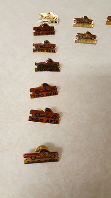 Lot of 17 Pizza Hut AFH Pin Pinback - Rare Vintage Including a 20,000 AFH Pin