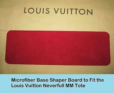 Red Base Shaper Liner that fit the Louis Vuitton Neverfull MM Bag