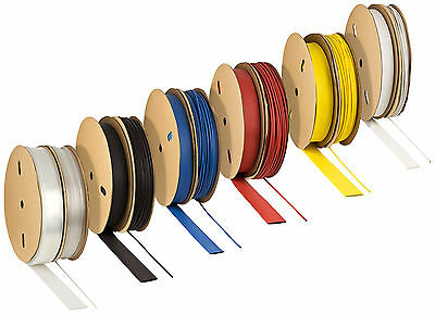 Heat shrink tube 3:1 with und without glue, waterproof, range of colours