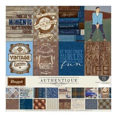 Authentique - 12x12 Collection Kit - Dapper