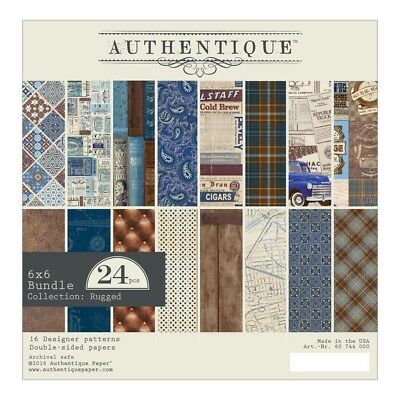 Authentique - Rugged  6x6 Paper Pad