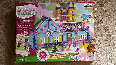 K'nex Mighty Makers Home Building Set NEW