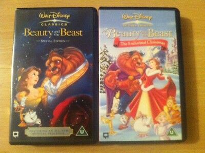 Disney: 2x Beauty and the Beast VHS ; Special Edition