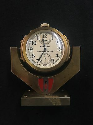 Hamilton Ships Chronometer Model 22 US Navy Dated 1941