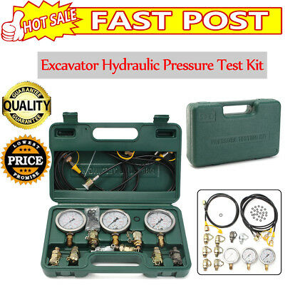 Excavator Hydraulic Pressure Gauge Test Kit , Hydraulic tester,test coupling