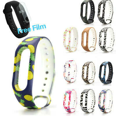 Silicone Wrist Band Strap Replacement Wristband Bracelet For Xiaomi Mi Band 2