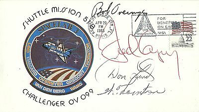 SPACE SHUTTLE STS-51B SIGNED CREW COVER 4 of 7 - UACC RD ASTRONAUT AUTOGRAPH