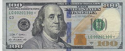 Series 2009 A - Star Note - $100 One Hundred Dollar Bill - Crisp Circulated