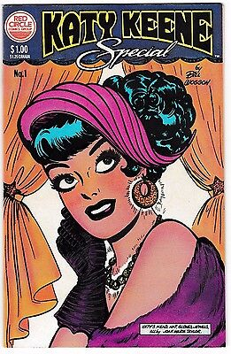 KATY KEENE SPECIAL #1 (VF+) Bill Woggon! Red Circle Comics Group 1983