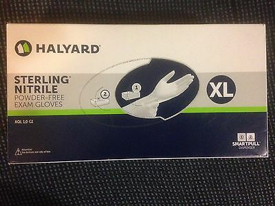 STERLING* Nitrile Exam Gloves SIZE XL LATEX-FREE & POWDER-FREE